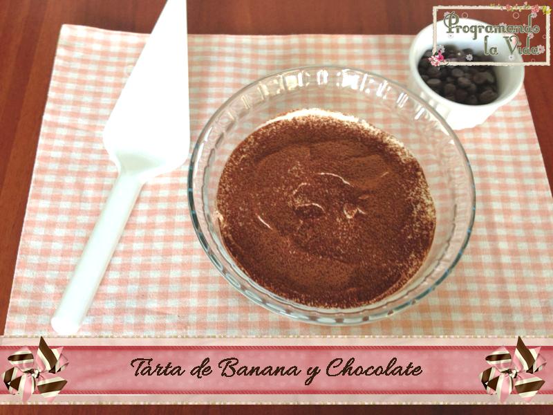 Tarta de Banana y Chocolate