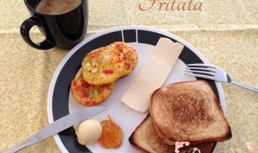Huevos Revueltos al Horno-Frittata