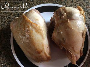 Paso-4-Sopa de Pollo y Vegetales o Chupe