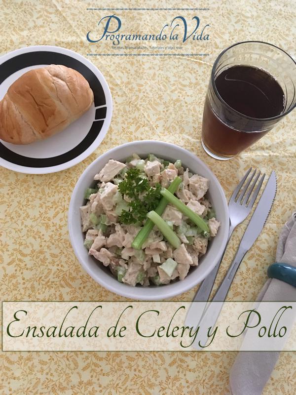 Ensalada de Celery y Pollo