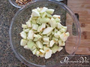 Paso-2-Hojaldre de Manzana o Apple Strudel
