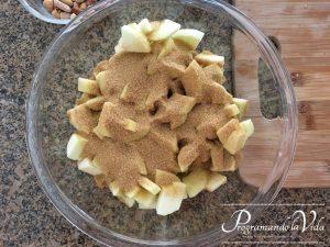 Paso-3-Hojaldre de Manzana o Apple Strudel