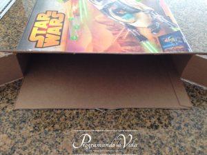 Paso-4a-Porta Papeles de Cartón Reciclado