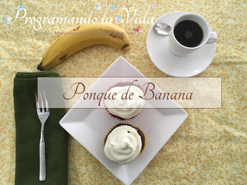 Ponqués de Banana