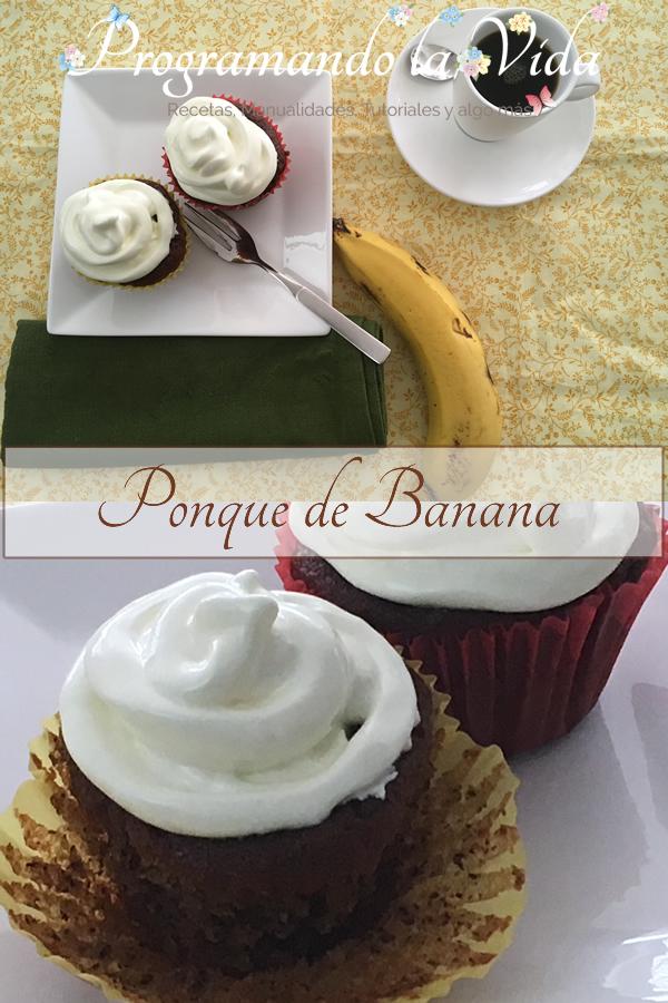 Ponqué de Banana