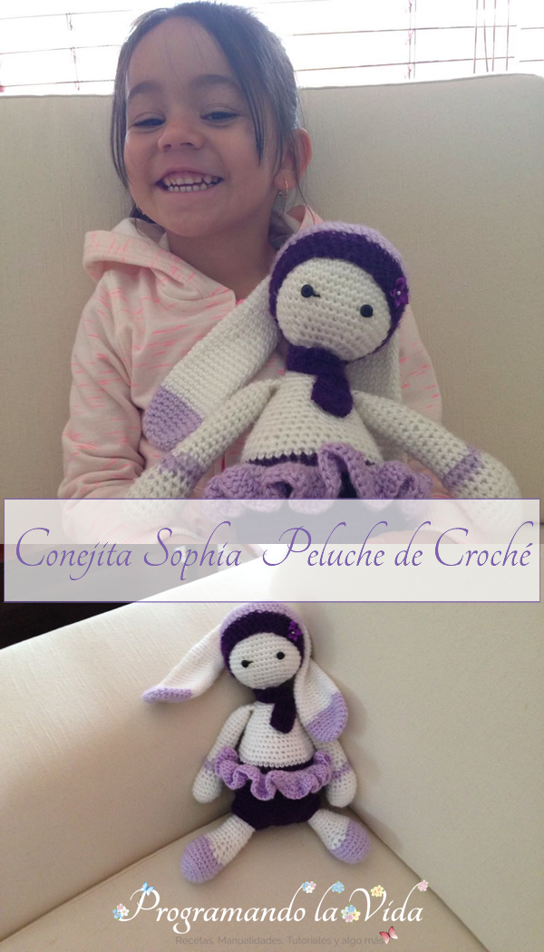 Conejita Sophia – Peluche de Croché-P