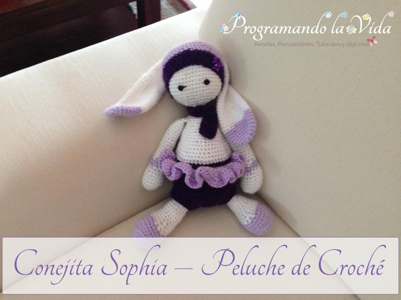 Conejita Sophia – Peluche de Croché