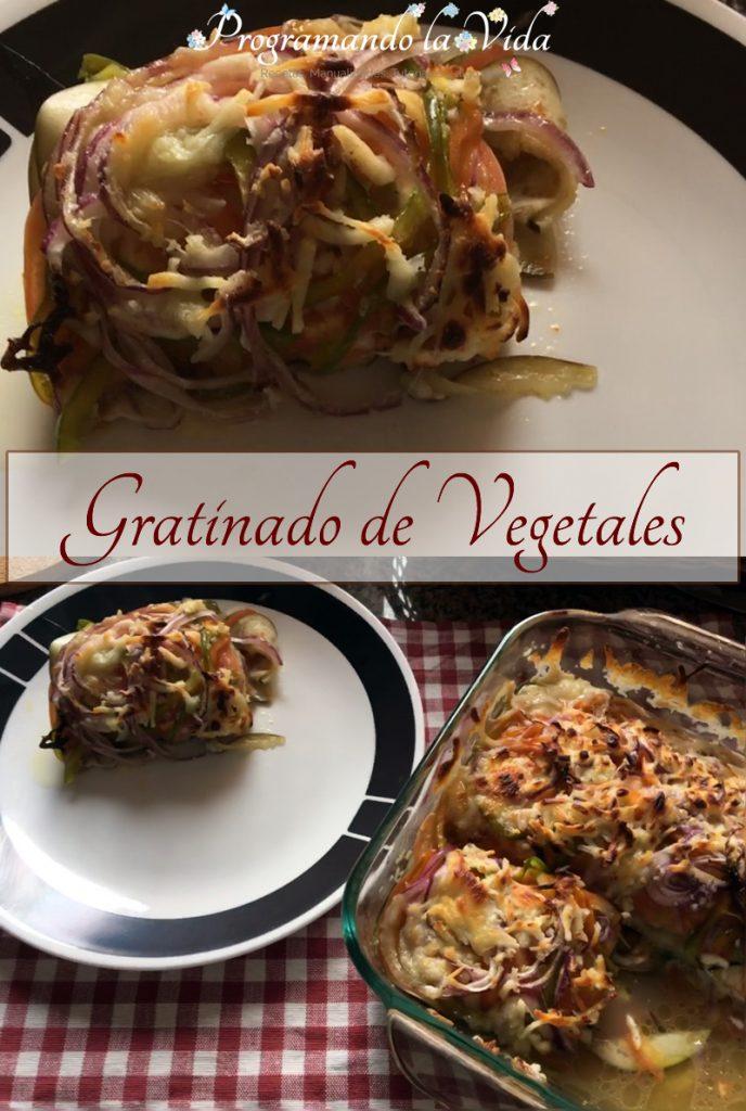 Gratinado de Vegetales-