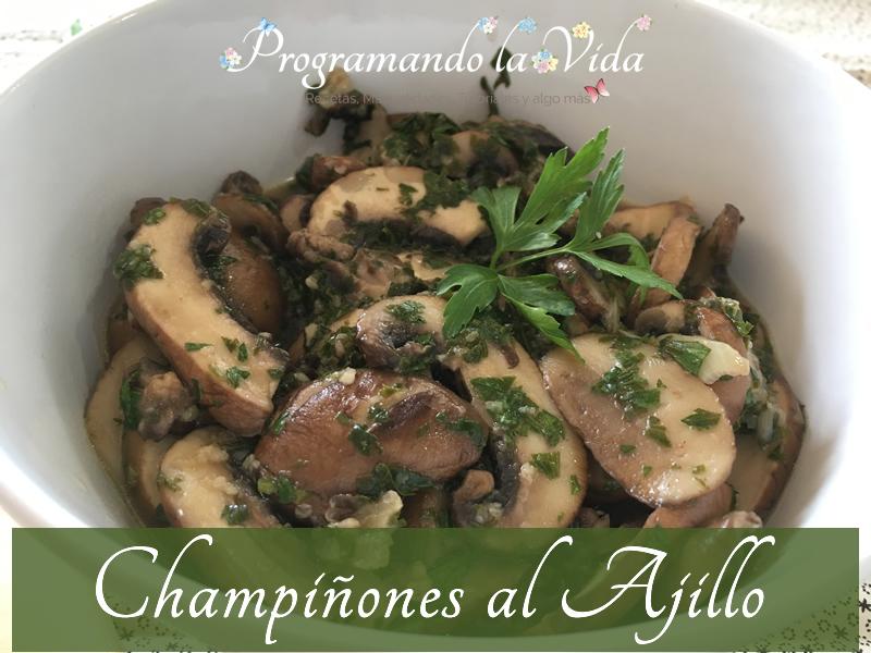 Champiñones Al Ajillo